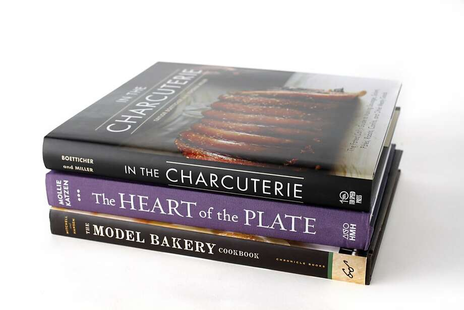 Three cookbooks: 1) In The Charcuterie, by Taylor Boetticher and Toponia Miller 2) The Heart of the Plate, by Mollie Katzen 3) The Model Bakery Cookbook, by Karen Mitchell and Sarah Mitchell Hansen Photo: Craig Lee, Special To The Chronicle