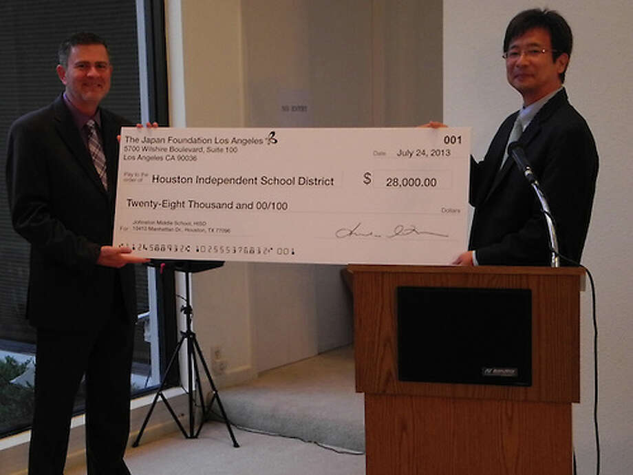 Houston Independent School District received a grant of $28,000 from Consulate-General of Japan. Photo: Houston Independent School District