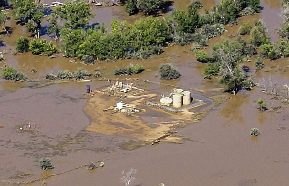 Data suggest that the flooding in Colorado was exacerbated by human-intensified climate change. Photo: Jane Pargiter, Associated Press