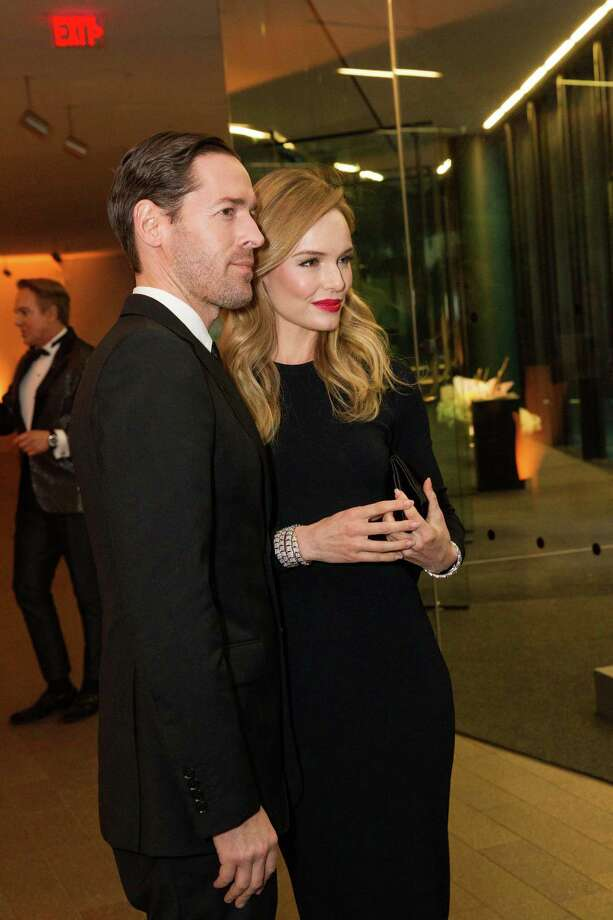 "Kate Bosworth with husband Michael Polish at the opening party for the ""The Art of Bulgari: La Dolce Vita & Beyond, 1950-1990"" exhibit at the de Young Museum on September 18, 2013. Photo: Drew Altizer Photography / © Drew Altizer"