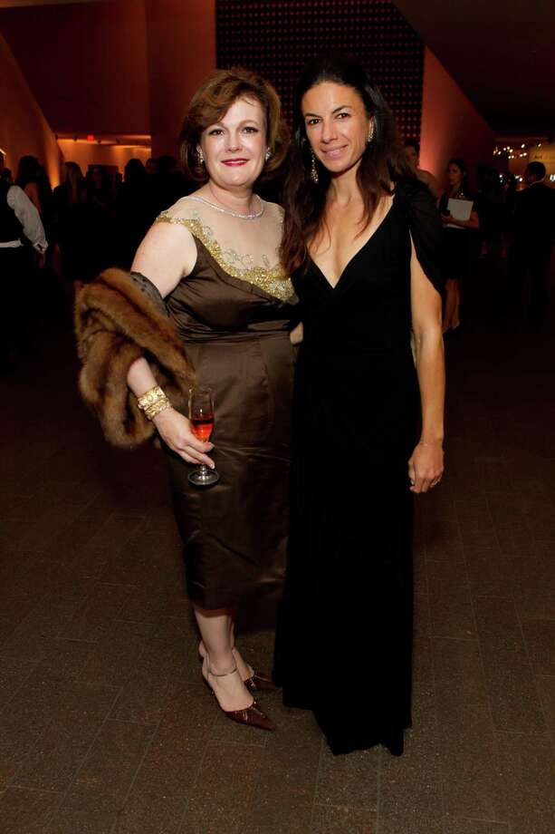 """Jennifer Raiser and Sabrina Buell at the opening party for the """"The Art of Bulgari: La Dolce Vita & Beyond, 1950-1990"""" exhibit at the de Young Museum on September 18, 2013. Photo: Drew Altizer Photography / Drew Altizer Photography"""