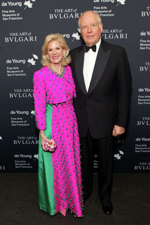 "Dede Wilsey and Nicola Bulgari at the opening party for the ""The Art of Bulgari: La Dolce Vita & Beyond, 1950-1990"" exhibit at the de Young Museum on September 18, 2013. Photo: Drew Altizer Photography / Drew Altizer Photography"