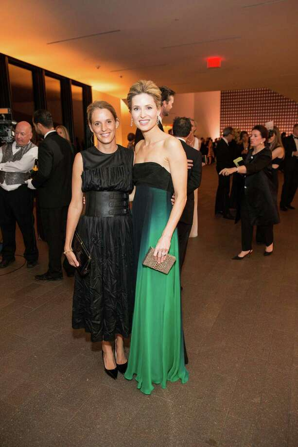 """Evie Simon and Kate Harbin at the opening party for the """"The Art of Bulgari: La Dolce Vita & Beyond, 1950-1990"""" exhibit at the de Young Museum on September 18, 2013. Photo: Drew Altizer Photography / ©2013 By Drew Altizer Photography, all rights reserved"""