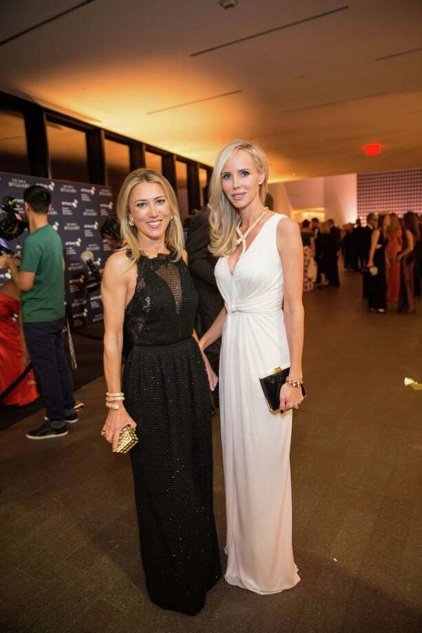 """Juliet de Baubigny and Vanessa Getty at the opening party for the """"The Art of Bulgari: La Dolce Vita & Beyond, 1950-1990"""" exhibit at the de Young Museum on September 18, 2013. Photo: Drew Altizer Photography / ©2013 By Drew Altizer Photography, all rights reserved"""