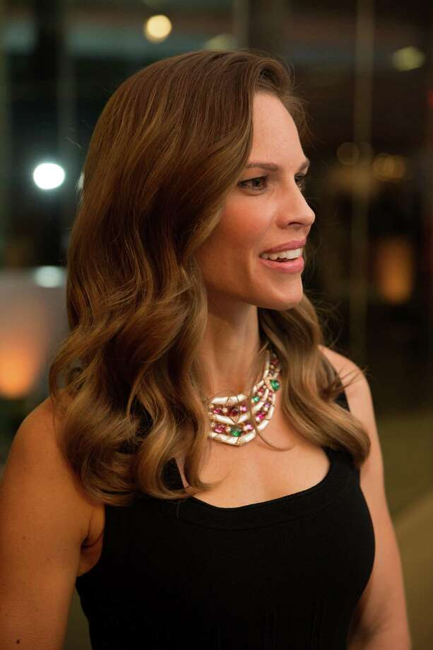 """Actress Hilary Swank at the opening party for the """"The Art of Bulgari: La Dolce Vita & Beyond, 1950-1990"""" exhibit at the de Young Museum on September 18, 2013. Photo: Drew Altizer Photography.com / ©Drew Altizer"""