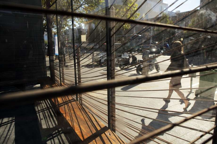New iron work surrounds the patio area. Photo: Carlos Avila Gonzalez, The Chronicle