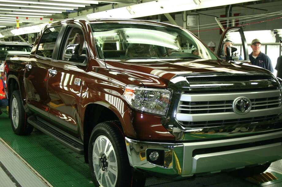 "The 1 millionth pickup rolled off the assembly line at Toyota's assembly plant on the South Side early Wednesday, just weeks before the manufacturer celebrates the 10th anniversary of its groundbreaking there next month. Inspired by the ranch that used to sit on the land, the premium 1794 Edition Tundra could help the Japanese automaker lure more ""lifestyle"" truck buyers from its domestic competitors. Photo: Courtesy Toyota"