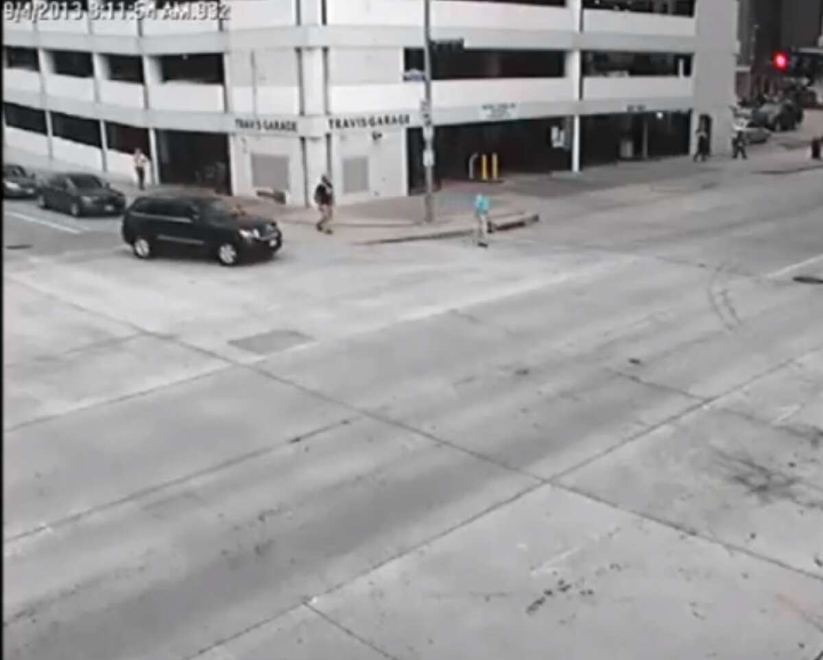 Houston Police Chief Charles McClelland accepted a one-day suspension and agreed to take a defensive driving course for accidentally striking a pedestrian in downtown Houston in September 2013.
