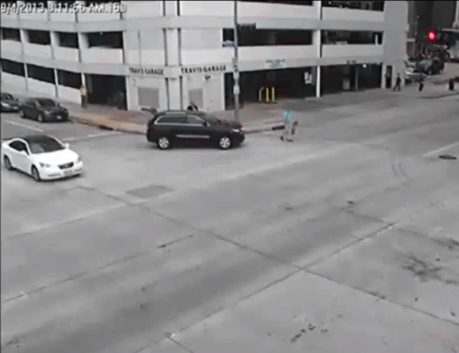 Houston Police Chief Charles McClelland accepted a one-day suspension and agreed to take a defensive driving course for accidentally striking a pedestrian in downtown Houston in September 2013. Photo: Houston Police Department