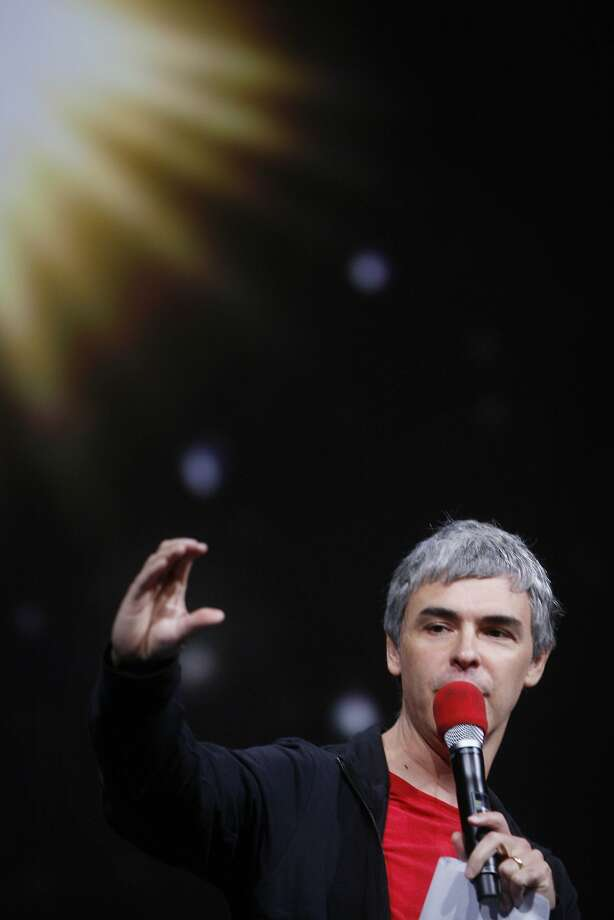 Larry Page, Google's co-founder and chief executive officer, speaks during the keynote presentation at Google I/O 2013 on Wednesday, May 15, 2013 in San Francisco, Calif. Photo: Lea Suzuki, The Chronicle