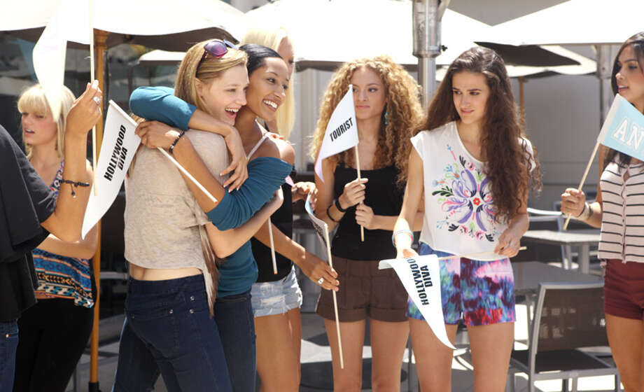 "America's Next Top Model -- ""The Girl Who Does What Tyler Perry Says""Pictured left to right: Kristin, Leila, Kiara, Nastasia, Victoria and AllyssaCycle 19Photo: Patrick Wymore/The CW©2012 The CW Network, LLC. All Rights Reserved Photo: Patrick Wymore, The CW / ©2012 The CW Network, LLC. All Rights Reserved"
