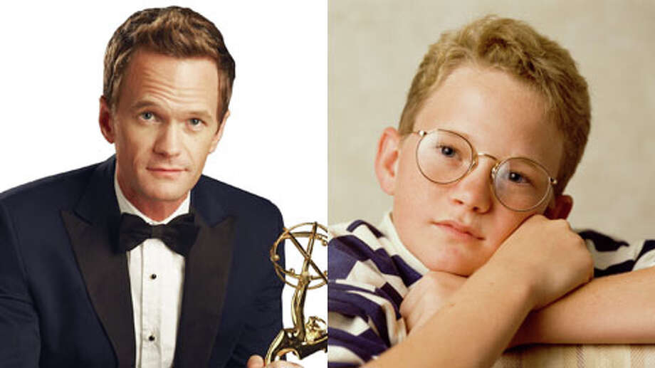 Neil Patrick Harris hosts the 65th Primetime Emmys on Sunday at 7 p.m on CBS. The `How I Met Your Mother' star has himself won two Primetime Emmys, both for hosting the Tony Awards. Harris, who has been in the business for most of his life, was nominated for a Golden Globe in 1989 for his performance in the film `Clara's Heart.' Take a look at some of this year's Emmy nominees now and earlier in their careers. Photo: CBS/Getty Images