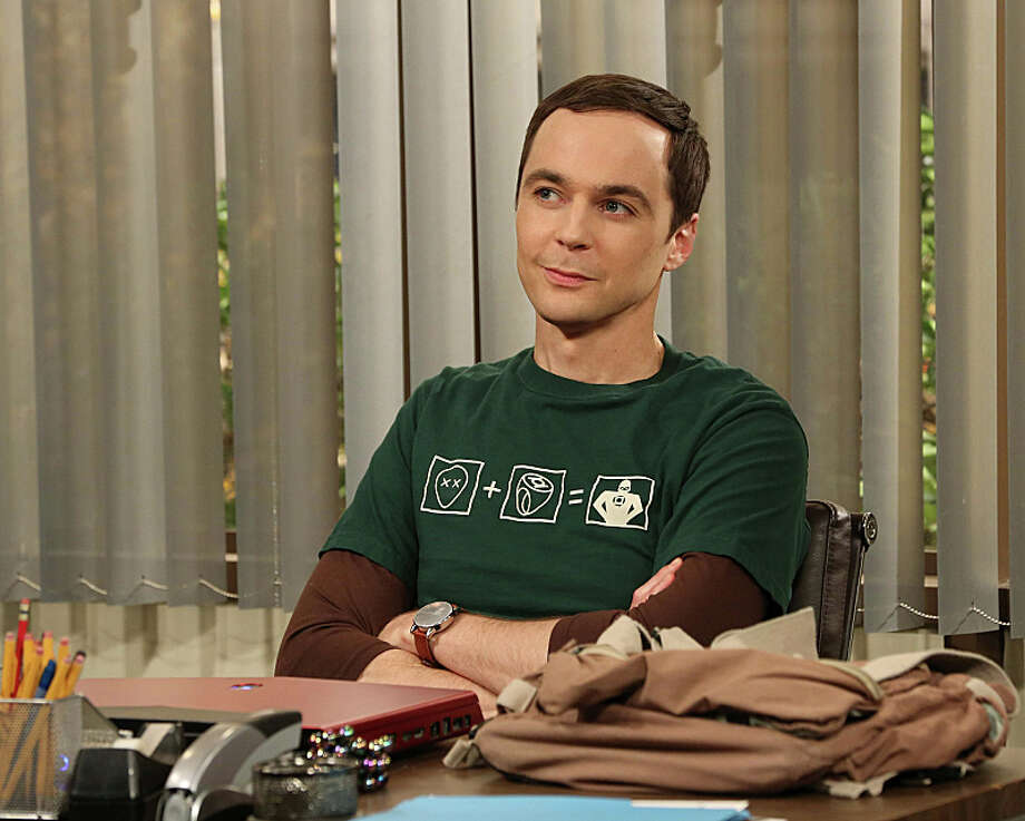 `The Big Bang Theory' has made Houston native Jim Parsons a star. This weekend, He'll go for his third Emmy as Sheldon Cooper. Photo: Michael Yarish, ©2013 Warner Bros. Television. All Rights Reserved. / ©2013 Warner Bros. Television. All Rights Reserved.