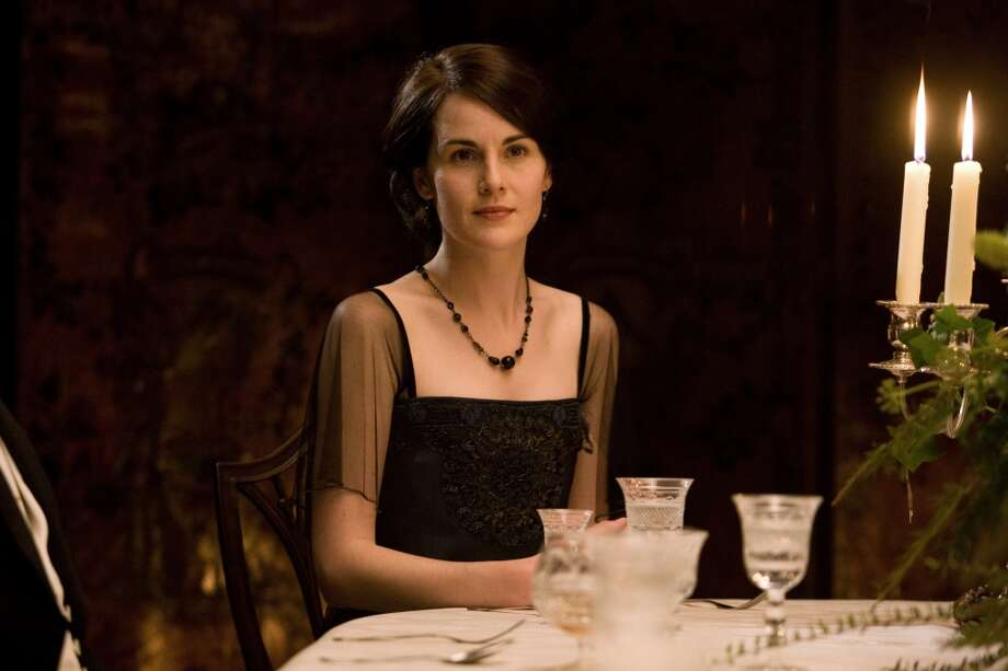 Best actress nominee Michelle Dockery just can't seem to find luck at love as Lady Mary on `Downton Abbey.' Photo: Anonymous, Associated Press