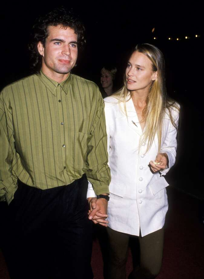 She's best known to a lot of people as Princess Buttercup in `Princess Bride.' Back before she was married to Sean Penn, Wright dated Jason Patric. Photo: Ron Galella, WireImage