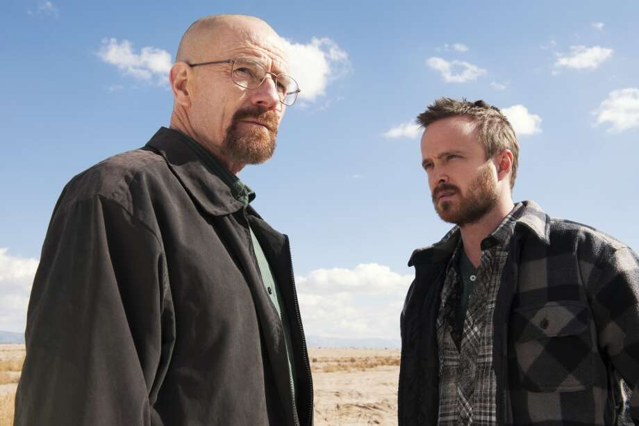 Bryan Cranston might be the hottest actor around right now. He already has won three Emmys as Walter White on `Breaking Bad.' Sunday could bring his fourth for the show, which comes to an end Sept. 28. His co-star Aaron Paul is up for the best supporting actor in a drama, an award he won in 2010 and 2012. Photo: Frank Ockenfels, Associated Press