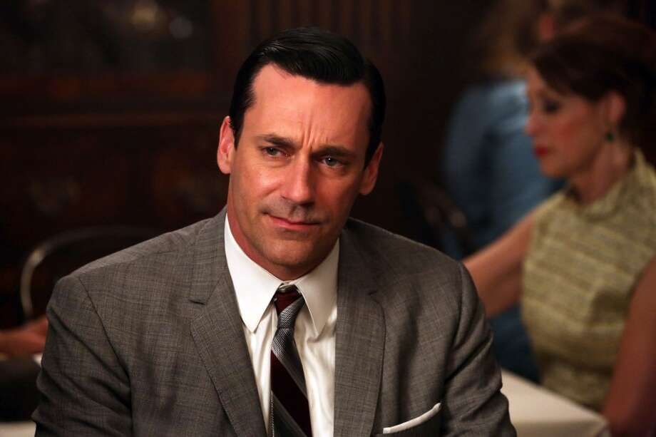 Poor Jon Hamm. It seems the `Mad Men' star is always an Emmy nominee, never a winner. Will Sunday be his breakthrough? Photo: Michael Yarish, Associated Press