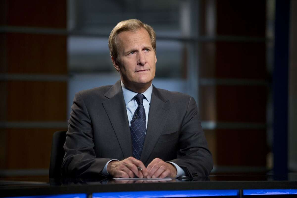 6. The Newsroom Jeff Daniels stars in this HBO series about an embattled television newsroom. Written by Aaron Sorkin, this series has been nominated for a Golden Globe for Best Television Series and just got picked up for a third season.