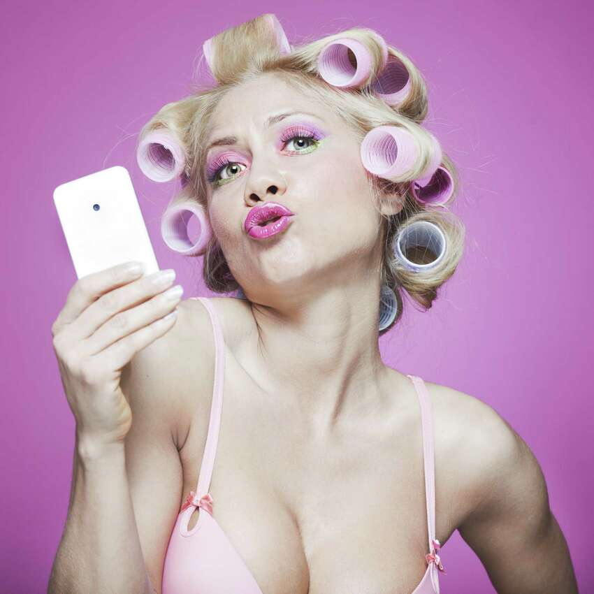 Selfie - a photograph that one has taken of oneself, typically one taken with a smartphone or webcam and uploaded to a social media website. Origin: early 21st century; from self + -ie.