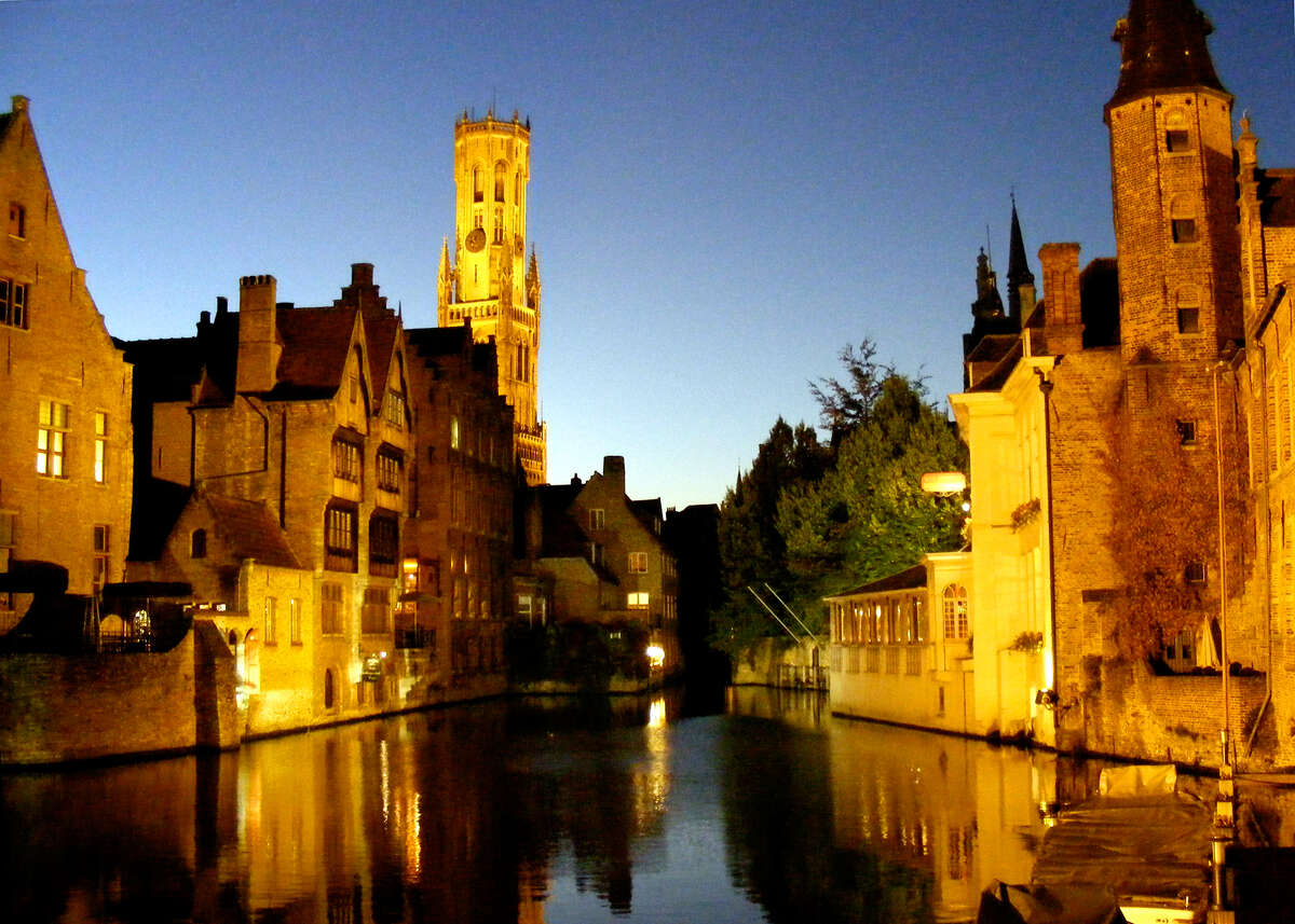 Bruges' dreamy canal was essential to its early history as a trading center. (photo: Gretchen Strauch)