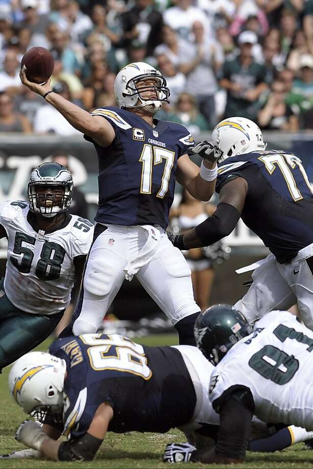 San Diego's Philip Rivers has improved his release time. Photo: Michael Perez, Associated Press