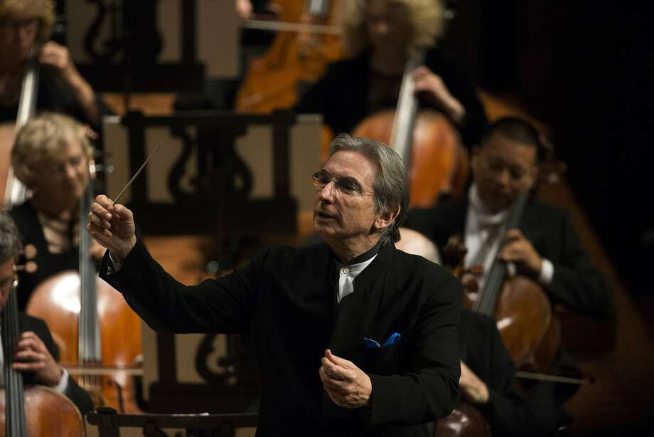 San Francisco Symphony Music Director Michael Tilson Thomas in action during the102nd Symphony gala opening night at Davies Symphony Hall in San Francisco, Calif. on Tuesday, Sept. 3, 2013. Photo: Stephen Lam, Special To The Chronicle