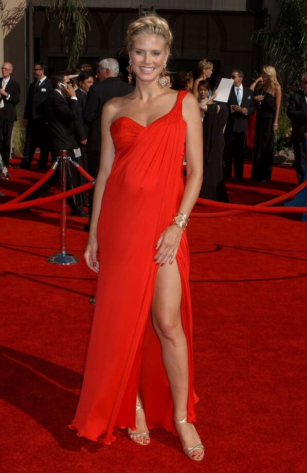 Hit: Heidi Klum, 2006. Beautiful color, sexy cut. Oh, and she's pregnant! Photo: Gregg DeGuire, WireImage