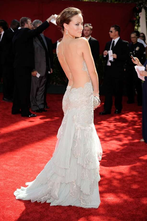 And stunning from the back. Photo: Frazer Harrison, Getty Images