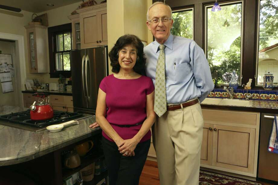 Diane Abdo and Richard Noll added 100 square feet to the kitchen in their Monte Vista home. Photo: Helen L. Montoya / San Antonio Express-News