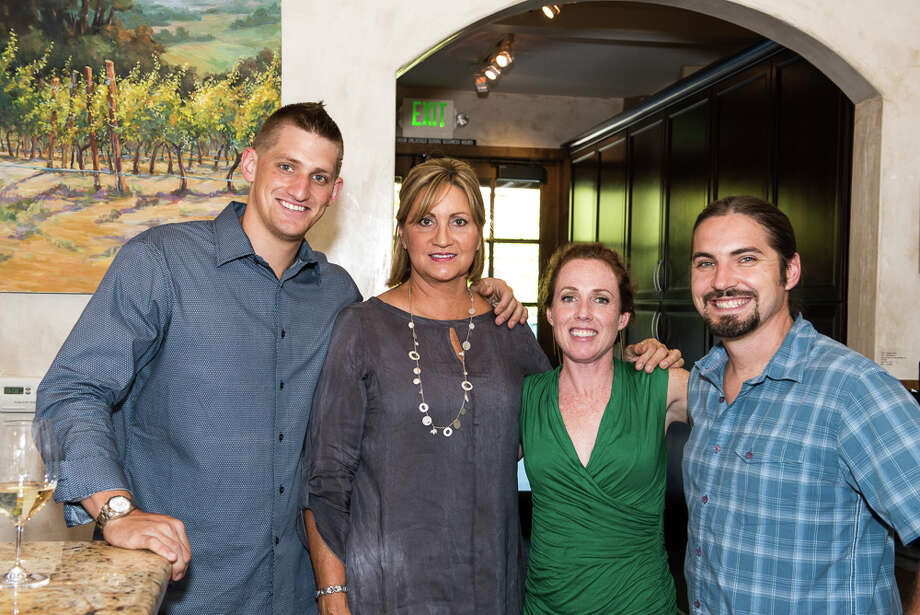 Dressed to the Vines, a celebration of style-meets Wine-Country in August, was the kick-off to an exhibition of original art created for the occasion at Yountville's Jessup Cellars. Photo: Christian Thomas, GEV Magazine / © Christian Thomas 2013