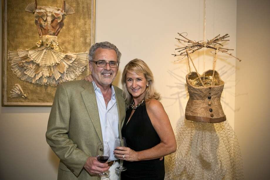 Dressed to the Vines, a celebration of style-meets Wine-Country in August, was the kick-off to an exhibition of original art created for the occasion at Yountville's Jessup Cellars. Photo: Tubay Yabut, GEV Magazine