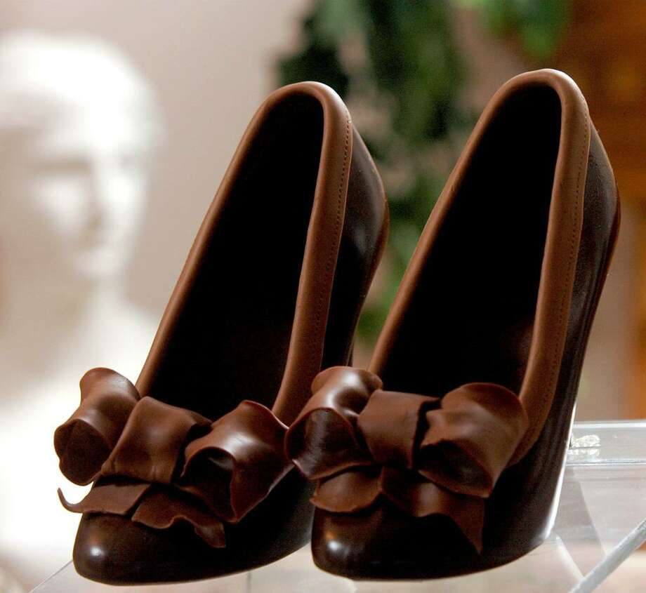 A pair of chocolate shoes. Photo: File Photo / The News-Times File Photo