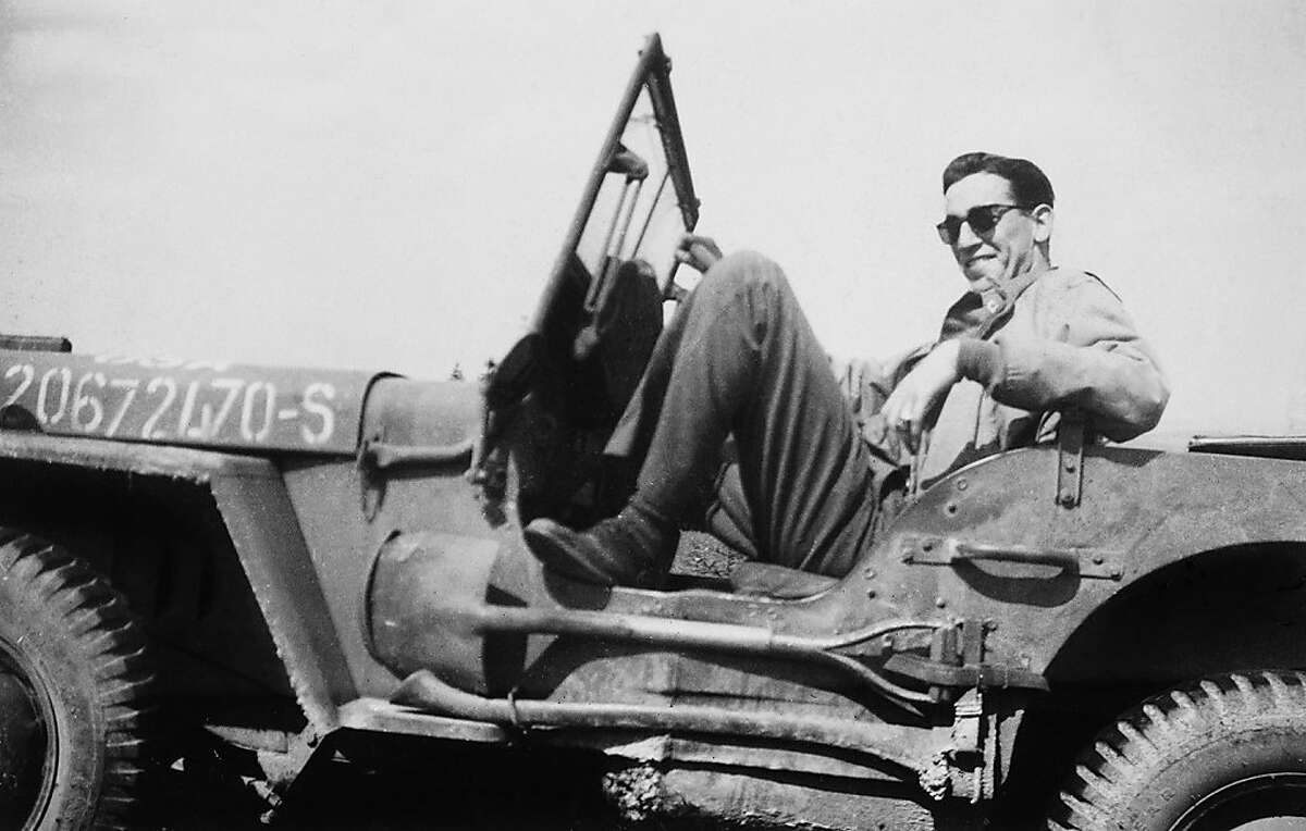 J.D. Salinger is seen in undated archive photos from director Shane Salerno's