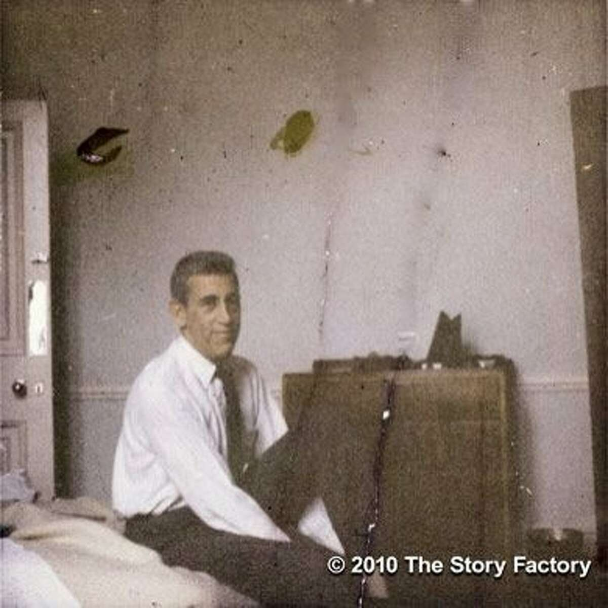J.D. Salinger image from the documentary