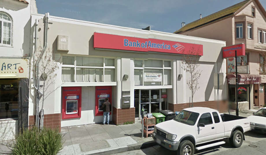 Bank of America at 2485 San Bruno Ave, San Francisco, CA Photo: Google Maps