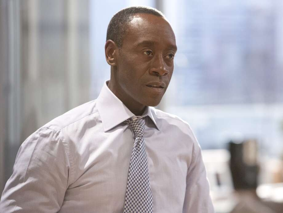 Don Cheadle is up for the Outstanding Lead Actor in a Comedy Series Emmy for the second year in a row for his Marty Kaan on `House of Lies.' Photo: Michael Desmond, Associated Press