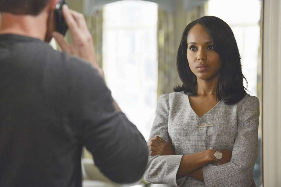 Kerry Washington's Emmy nom for political thriller `Scandal' is her first. Photo: Eric McCandless, Associated Press