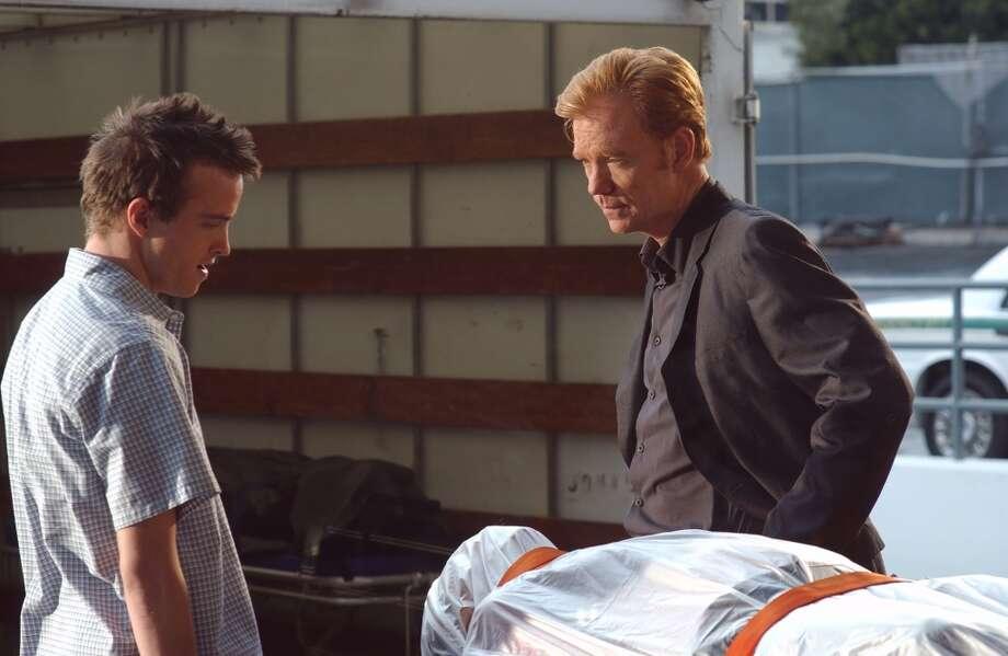 Paul starred with David Caruso in a 2003 episode of `CSI: Miami.' Photo: CBS Photo Archive, CBS Via Getty Images