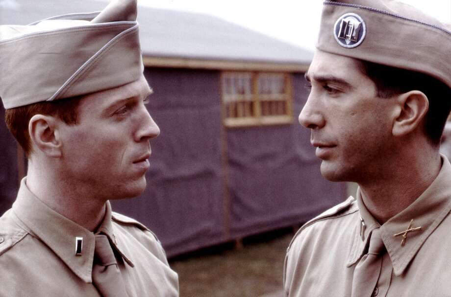 In 2001, Lewis starred in HBO's acclaimed mini-series `Band of Brothers.' Photo: HBO, Getty Images