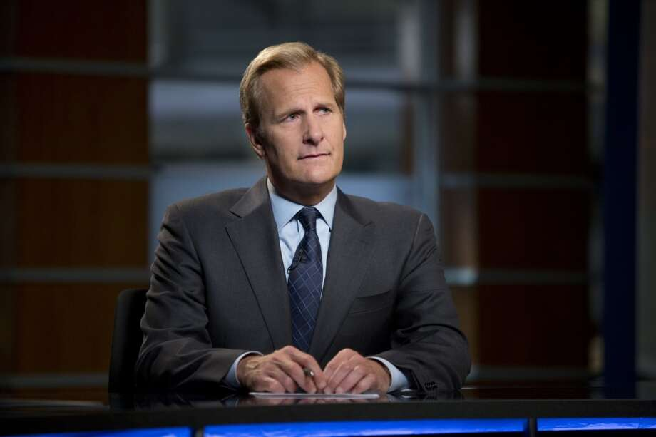 Jeff Daniels has earned his first Emmy nomination for `The Newsroom,' in which he plays anchor Will McAvoy. Photo: Melissa Moseley, Associated Press