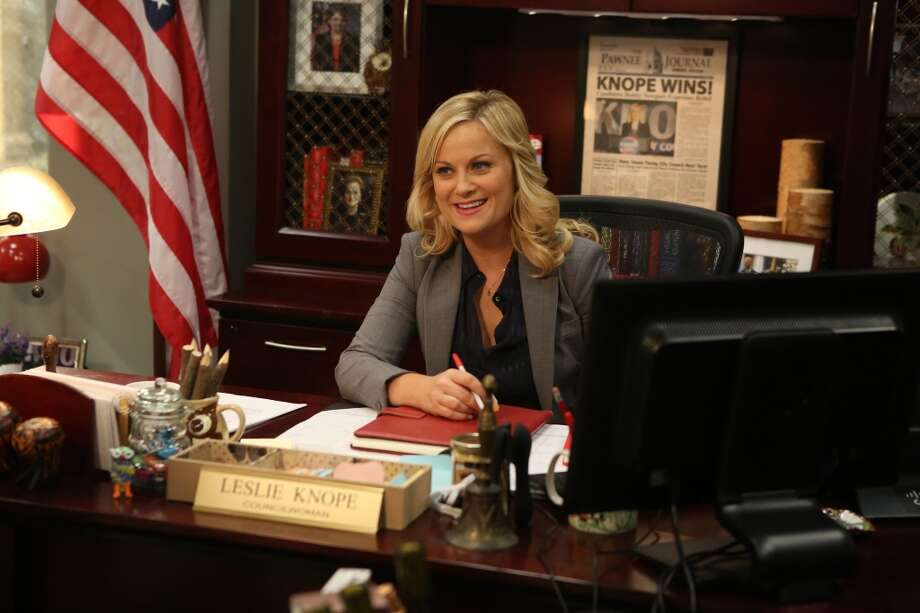 Including this year, `Parks and Recreation' star Amy Poehler has been Emmy-nominated nine times. She's yet to win. Photo: Dean Hendler, Associated Press