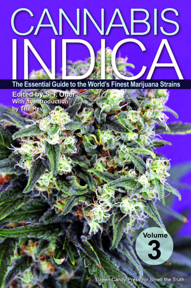 Cannabis plants are classified into two main groups: Indica and Sativa. This book focuses on Cannabis Indica, a bushier and heavier plant that produces a smoke that famously induces (among other highs) a desire to sit quietly on the couch and relax.   This is the latest book in the bestselling series focusing on the Cannabis Indica plant, the most popular type of marijuana in the United States due to its growth patterns and intense physical effects.  No other strain guide series has looked at Cannabis Indica in such depth before, and readers across the USA are desperate for more. Featuring 100 strains of amazing Indica-dominant genetics and a dazzling array of skilled breeders, this book is a must-have for pot enthusiasts, pot growers, and pot connoisseurs, new and old alike.  There are no advertisements in the book and no one paid to be included. Chief editor, bestselling author S.T. Oner, carefully selected all strains based on merit, not advertising dollars.  Available Oct. 29. Photo: Green Candy Press For Smell The Truth, Picasa