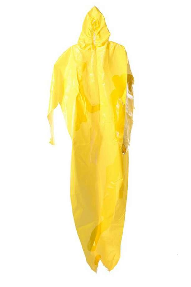 "Walter White's Hazmat Suit from 'Breaking Bad'""One of the most iconic pieces of wardrobe in all of Breaking Bad, yellow suits protected Walter White and Jesse Pinkman from the toxic chemicals they used to cook methamphetamine in Season 1. This Tyvek suit is especially important: The extremely recognizable item is one of the very hazmat suits that Bryan Cranston wore onscreen.""See the item at ScreenBid.com Photo: ScreenBid.com"