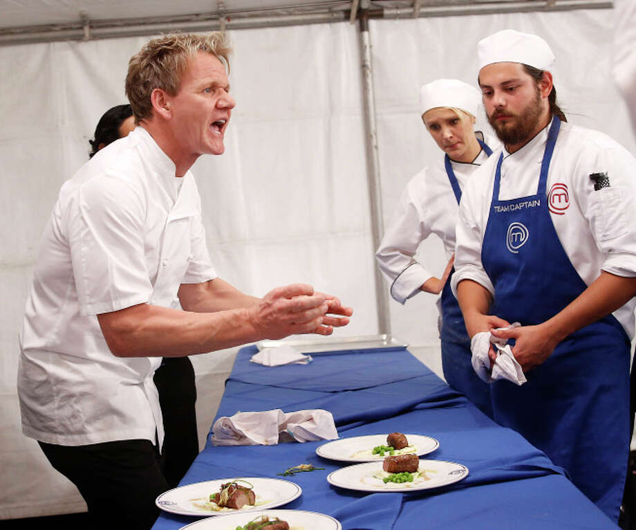 Chef Ramsay, Contestant cracks down on MasterChef  team that includes contestants Jesse and James.