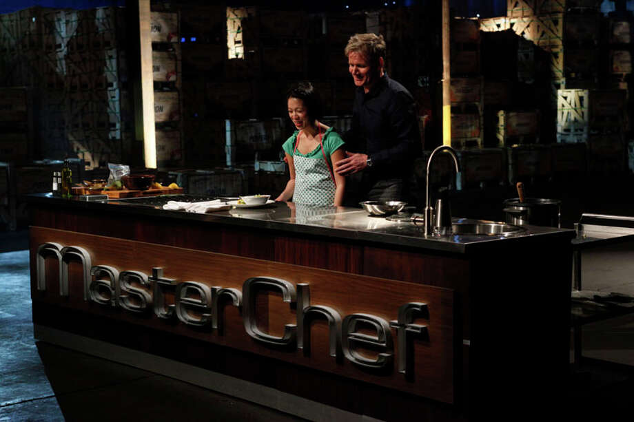 "Christine Ha of Houston is competing on season 3 of Fox's ""MasterChef,"" a reality show starring host Gordon Ramsay that features amateur chefs competing for a $250,000 grand prize. She is the only blind contestant in the show's history. The aspiring chef lost her sight when she was 19 to an autoimmunde disease called Neuromyelitis optica. Photo: Fox, FOX / ©2012 Fox Broadcasting Co."