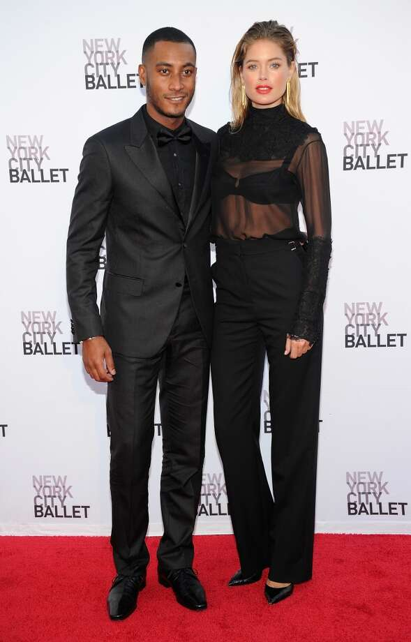 Sunnery James and  Doutzen Kroes attend New York  City Ballet 2013 Fall Gala at David H. Koch Theater, Lincoln Center on September 19, 2013 in New York City.  (Photo by Jamie McCarthy/Getty Images) Photo: Jamie McCarthy, Getty Images