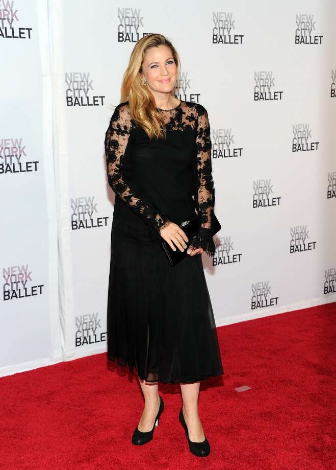 Actress Drew Barrymore attends the New York City Ballet 2013 Fall gala at Lincoln Center on Thursday, Sept. 19, 2013 in New York. (Photo by Evan Agostini/Invision/AP) Photo: Evan Agostini, Associated Press