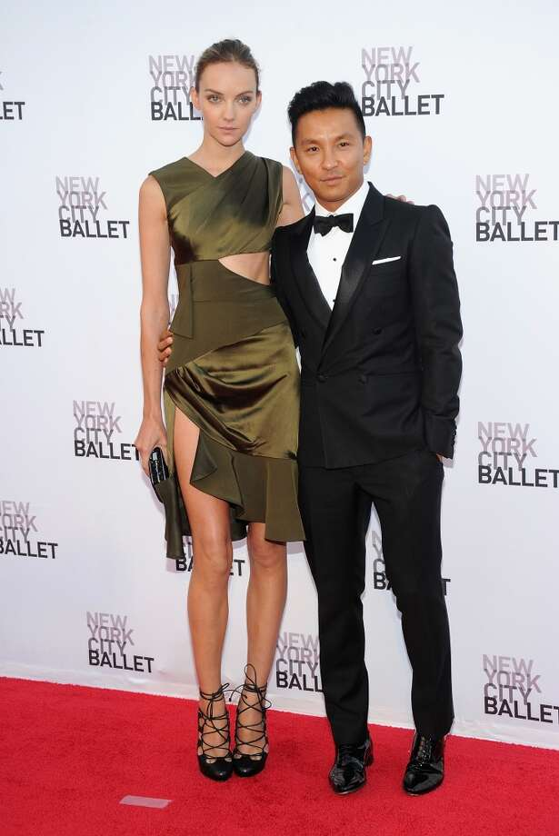 Prabal Gurung and and guest attend New York  City Ballet 2013 Fall Gala at David H. Koch Theater, Lincoln Center on September 19, 2013 in New York City.  (Photo by Jamie McCarthy/Getty Images) Photo: Jamie McCarthy, Getty Images