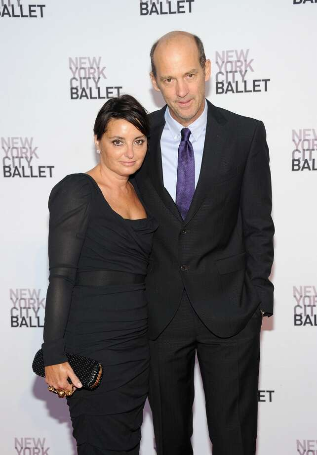 Jeanine Lobell and Anthony Edwards attend New York  City Ballet 2013 Fall Gala at David H. Koch Theater, Lincoln Center on September 19, 2013 in New York City.  (Photo by Jamie McCarthy/Getty Images) Photo: Jamie McCarthy, Getty Images