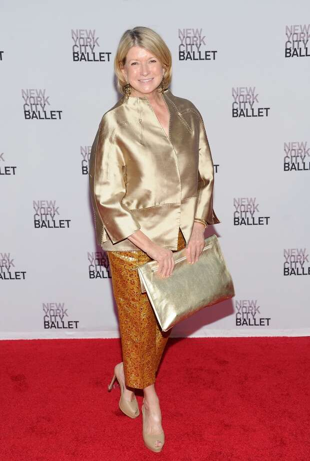 Martha Stewart attends the New York City Ballet 2013 Fall gala at Lincoln Center on Thursday, Sept. 19, 2013, in New York. (Photo by Evan Agostini/Invision/AP) Photo: Evan Agostini, Associated Press
